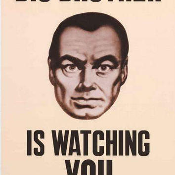 Big Brother Is Watching You Poster 24x36