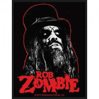 Rob Zombie Portrait Woven Patch - Stickers & Patches - Novelties - Rockabilia