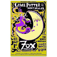 Grace Potter & The Nocturnals Poster, 2009