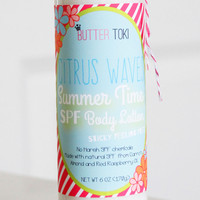 Citrus Waves Natural SPF Sunscreen Body Lotion
