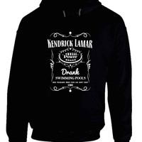 Kendrick Lamar Jack Daniels Drank Swimming Pools Hoodie