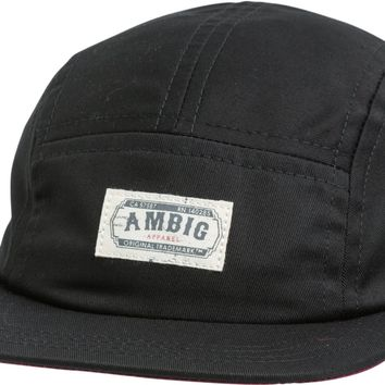 AMBIG LABELED 5 PANEL CAMPER HAT