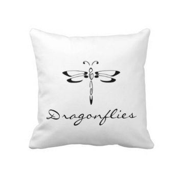 Dragonfly Reversable American MoJo Pillows from Zazzle.com