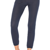eberjey Baxter Slouchy Legging in Blue Nights