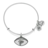 Atlanta Falcons Football Charm Bangle
