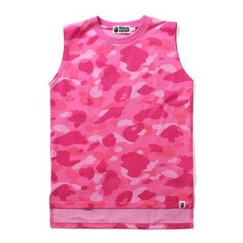 COLOR CAMO TANK TOP LADIES