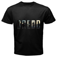 Dredd 3d t-shirt size S,M, L,XL, 2XL, 3XL, 4XL and 5XL