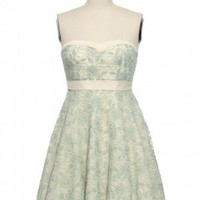 Mint Crush Party Dress