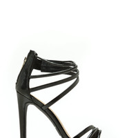 Scaled To Fit Strappy Heels
