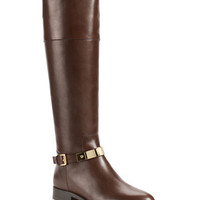 Michael Kors Morganna Leather Riding Boot