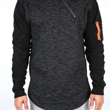 The Grand Flight Hoodie in Black
