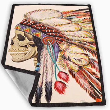 Best native american blanket products on wanelo for Tattoo bedding queen