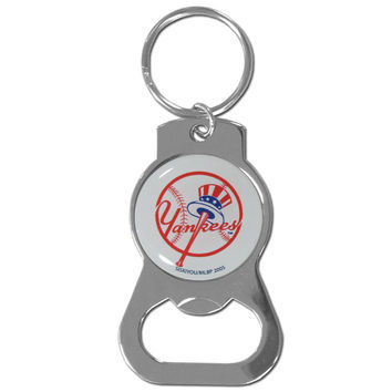 New York Yankees Bottle Opener Key Chain