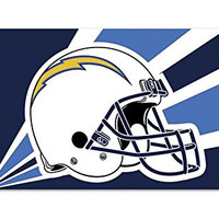 San Diego Chargers NFL Premium Polyester Flag Banner Sign
