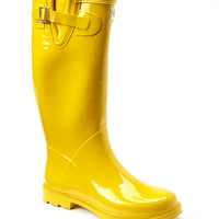 Forever Young Inc. Yellow Pull-On Rain Boot | zulily