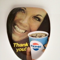 Vintage Pepsi Advertisement Spoon Rest