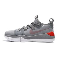 Nike Kobe AD White Gray Red - Best Deal Online