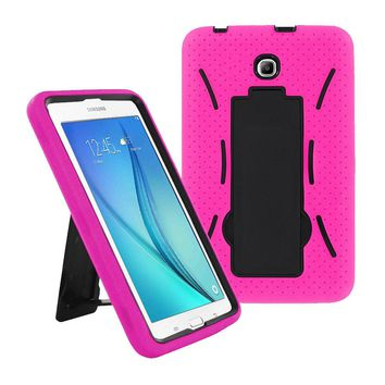 Samsung Galaxy Tab A 8.0 / T350 / T355 Hybrid Silicone Case Cover Stand Pink