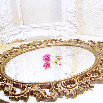 Take 50% Off Large Ornate Victorian Mirror Shabby French Country YOU PICK COLOR