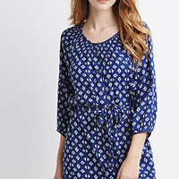 Diamond Print Tunic