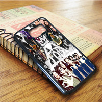 Fall Out Boy Collage Samsung Galaxy S6 Edge Case