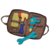 FELTED TOOL SET | Toy, Game, Hand-Felted Children's Accessories, Fair Trade Toy | UncommonGoods