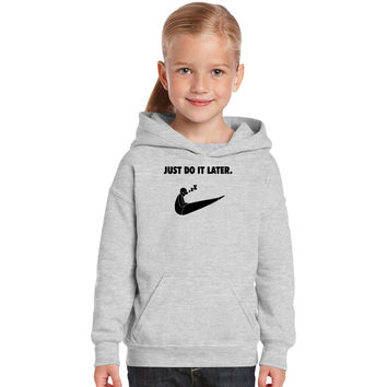 Just Do It Kids Hoodie