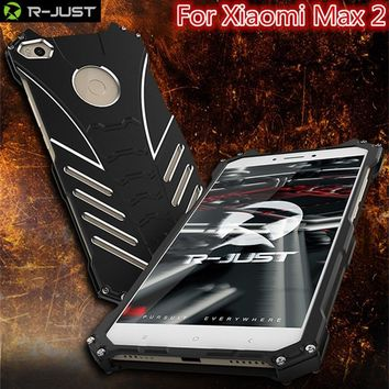 Batman Dark Knight gift Christmas For Xiaomi Mi Max2 Aluminum Metal Fitted case,R-JUST BATMAN Armor Heavy Shockproof  Protect Phone Case for xiaomi Max2 AT_71_6