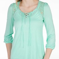 Daytrip Pieced Lace Top - Women's Shirts/Tops | Buckle