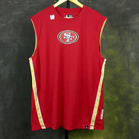 San Francisco 49ers Mens NFL Team Apparel Sleeveless T-Shirt Tee Shirt