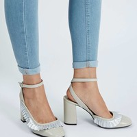 GOSH Frill Detailed Heel Shoes - Shoes