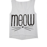 Meow Whiskers Tank