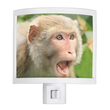Scary Howling Monkey Halloween Party Celebration Night Light