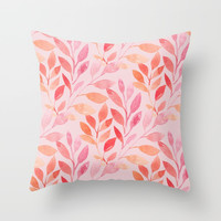 Pink Please Throw Pillow by allisone