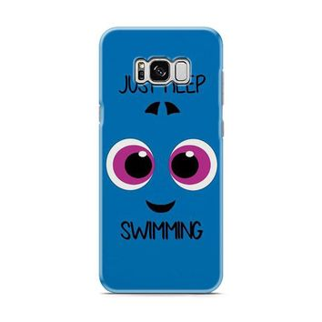Baby Dory Just Keep Swimming Samsung Galaxy S8 | Galaxy S8 Plus case