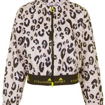Leopard Camo Print Jacket by adidas StellaSport - Pink