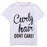 Curly Hair Don't Care Top
