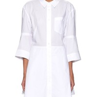 Dee Tech Pop button-down shirtdress | Acne Studios | MATCHESFASHION.COM US
