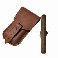 Robusto cigar case