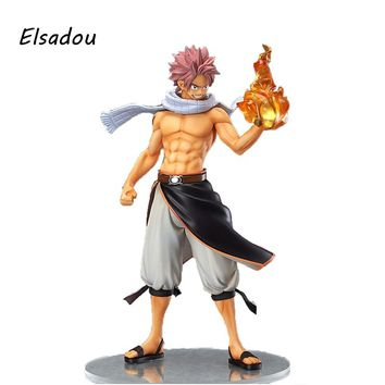 FAIRY TAIL Etherious  Natsu  Dragneel Action Figure PVC For Children Toy Gifts 23cm