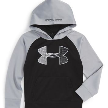 Under Armour 'Jumbo Logo' Hoodie (Toddler Boys & Little Boys) | Nordstrom
