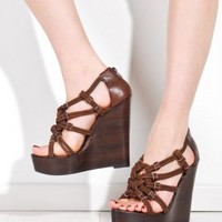 Women's Niko Platform Wedges (Brown) | Dolce Vita | 80's Purple