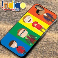 The Big Bang Theory Character - iPhone 4/4s/5/5s/5c Case - Samsung Galaxy S3/S4 - Blackberry z10 - iPod 4/5 Black or White