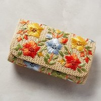 Garden Route Clutch by Anthropologie in Orange Size: One Size Clutches