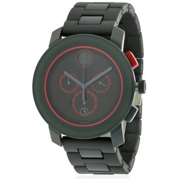 Movado Bold Grey Ion Chronograph Men's Watch, 3600272