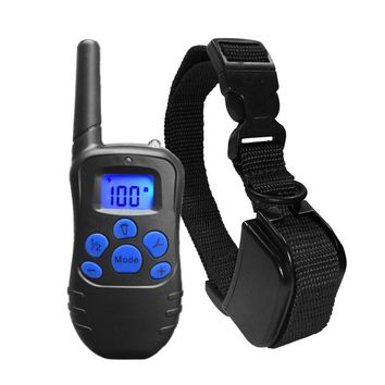 Dog Training Collar Rechargeable and Rainproof 330yd Remote Dog Shock Collar with Beep, Vibration and Shock Electronic Collar