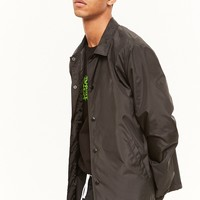 Snap-Front Windbreaker