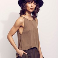 Free People Sleek N Easy Tank at Free People Clothing Boutique