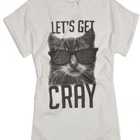 Cool E Kitty T-shirt with Short Sleeves