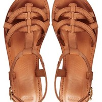 ASOS FLIGHTPLAN Leather Flat Sandals